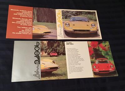 Ferrari documentation, media material