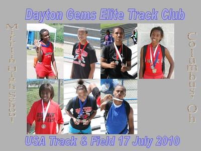 Track USAT&F DaytonGemsElite Mifflin HS 17Jul2010
