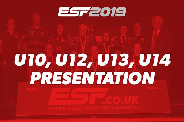 U10, U12, U13, U14 PRESENTATION