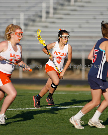Lacrosse Girls JV Woodson 4/27/12