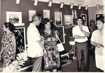 Dr. Barros Machado, D. Esperança Josefa, Antonio ( marido da Ne') e Isabel Reis