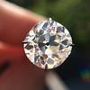 2.67ct Antique Cushion Cut Diamond, GIA L VS1 16