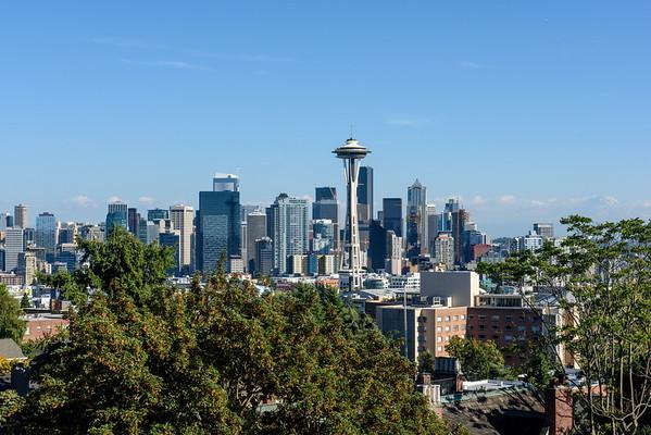 20160824 Seattle Skyline