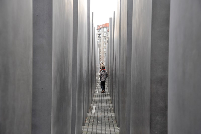 Within the Holocaust Memorial
