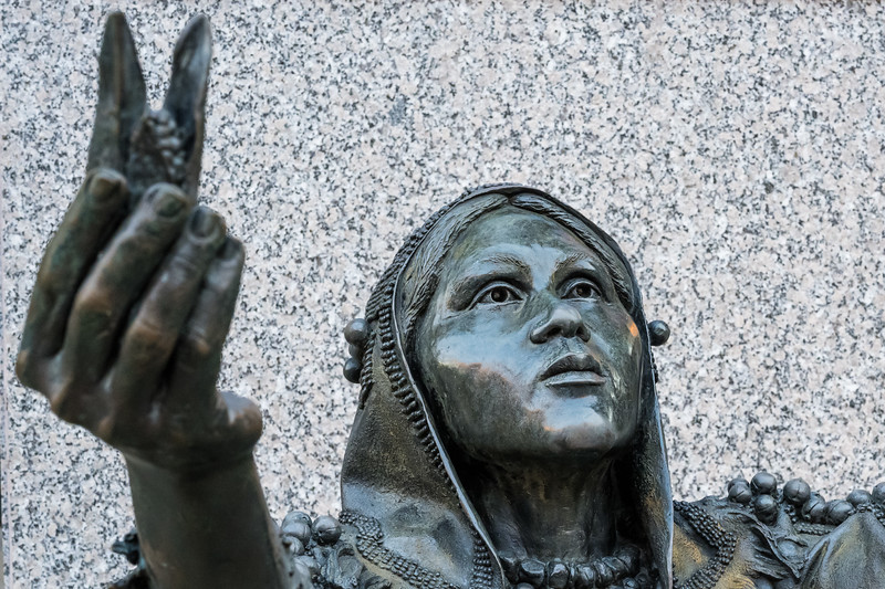 Sauratown Woman