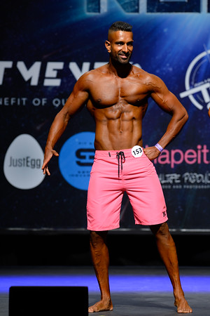 Novice Mens Physique Over 179 and up to and including 182 cm