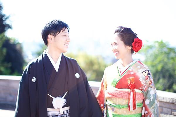 Takao Wedding Portraits