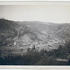 Title: Galena, S. Dakota. Bird's-eye view from southwest<br /> Bird's-eye view of a small town (main street and buildings) surrounded by hills. 1890.<br /> Repository: Library of Congress Prints and Photographs Division Washington, D.C. 20540