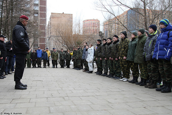 """Youth military-patriotic tournament 2014 """"In the Memory of Fallen Special Forces Officers"""""""