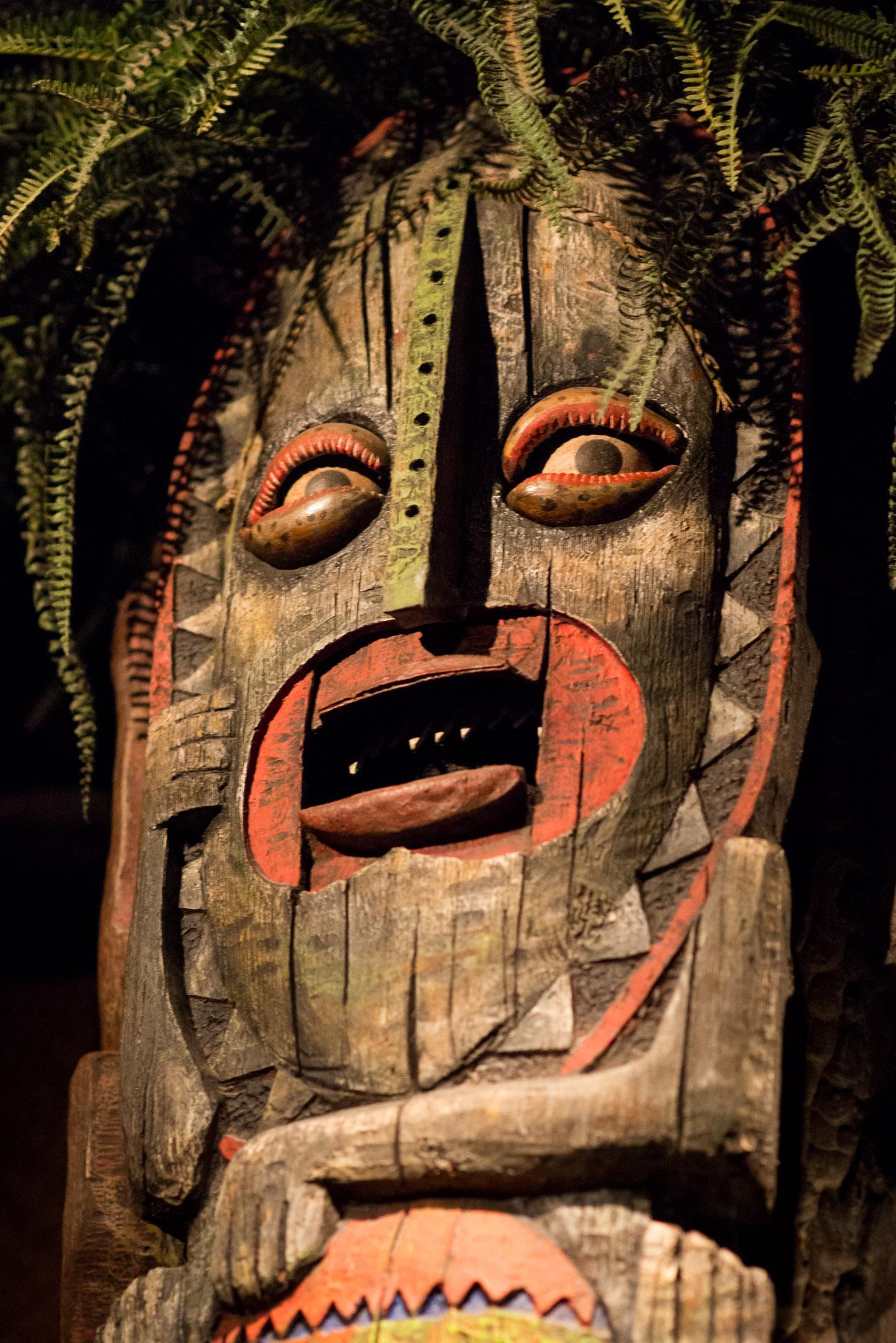 Tiki Face - Walt Disney World Magic Kingdom
