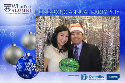 Wharton Alumni HK Annual Party - 2 Dec 2016