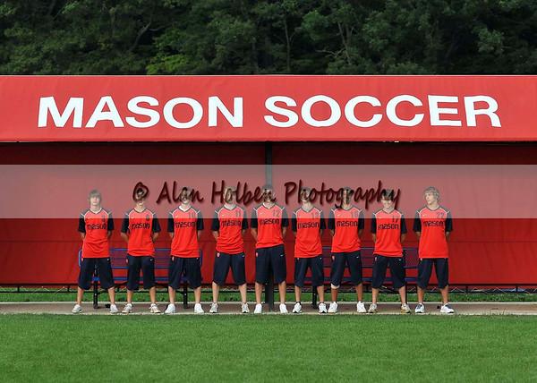 Boys Varsity Soccer - Mason seniors