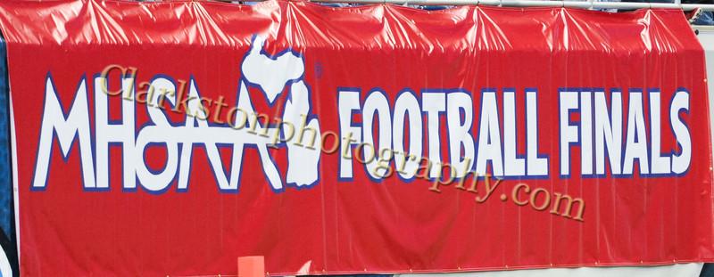 2013 Clarkston Varsity Football vs. CC