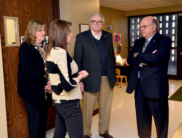 MU President White visits Child Care Center
