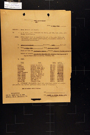 Pucket Medal of Honor Mission July 9, 1944