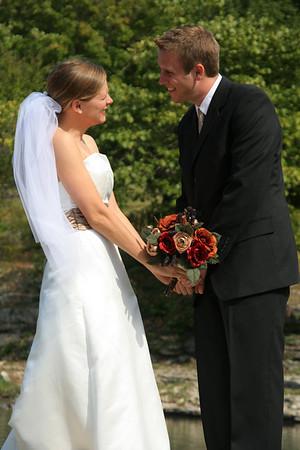 Lisa and Ryan Braden's wedding