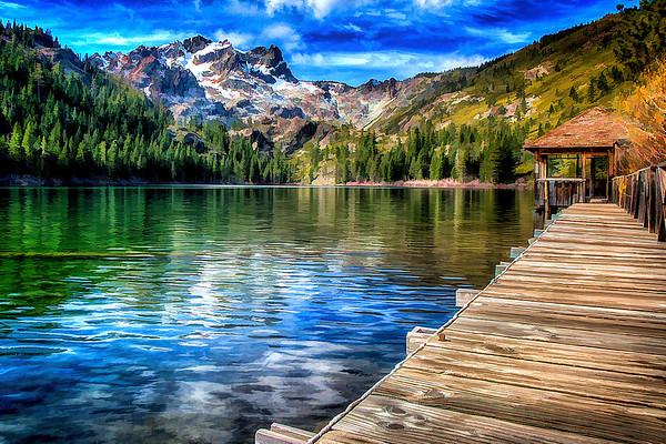 Sardine Lake & Salmon Lake