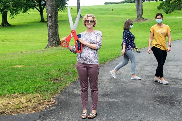 Walking Trail Ribbon Cutting 2020