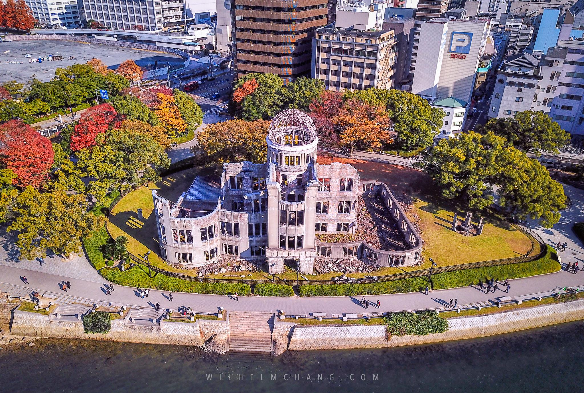 到廣島攝影 日本三景嚴島神社 原爆圓頂 by Wilhelm Chang