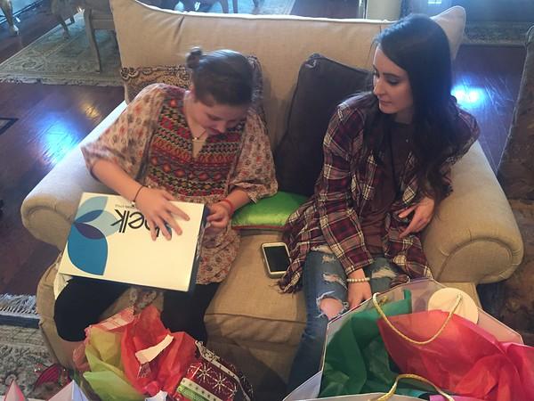Xmas with Kristi's family