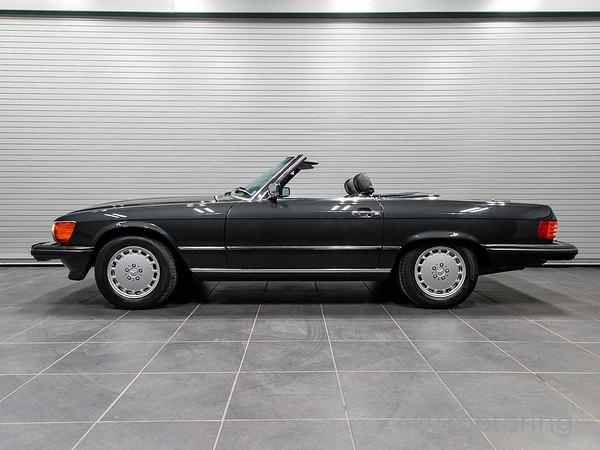 '89 560SL - Black Pearl Metallic