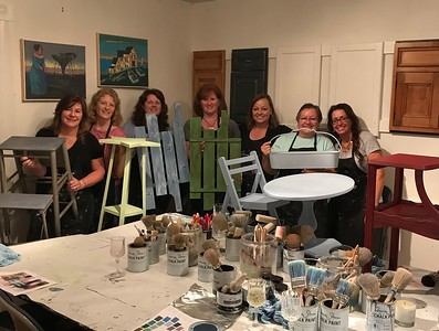 2018_05_17 Paint Nite at Thomas Mach Interiors