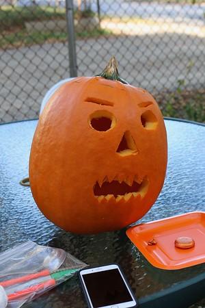 Pumpkin Carving 2017