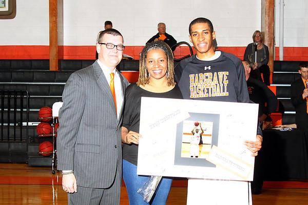 Varsity Basketball - Senior Recognition - Covenant Game