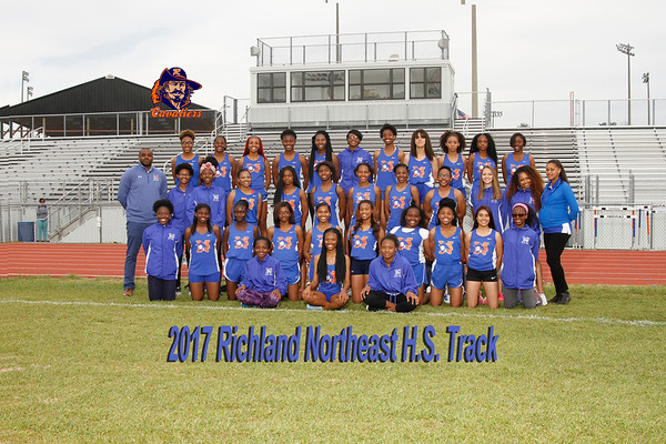 2017 Track Girls