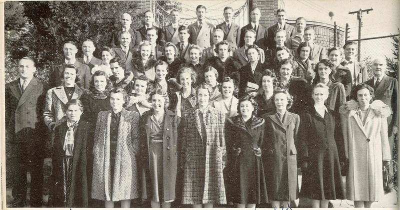 1942 faculty of UHS. Names are listed in the following image.