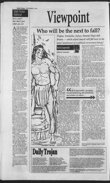 Daily Trojan, Vol. 132, No. 6, September 05, 1997