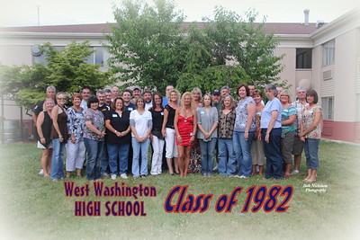 WWHS Class of 1982 Reunion 2012