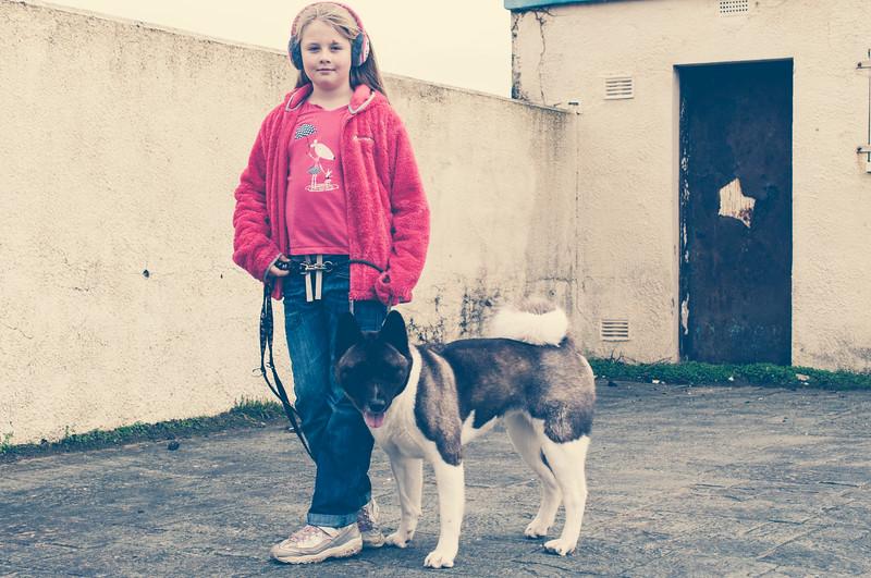 Freya and Poppy