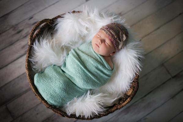 Baby Kate's Newborn Photos