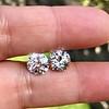 4.08ctw Old European Cut Diamond Pair, GIA I VS2, I SI1 17
