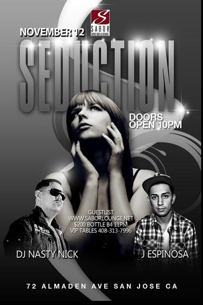 Seduction @ Sabor Tapas Bar & Lounge 11.12.11