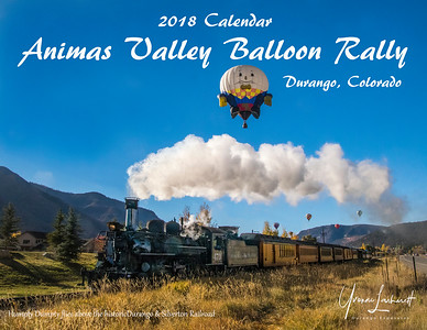 2018 Calendar Animas Valley Balloon Rally