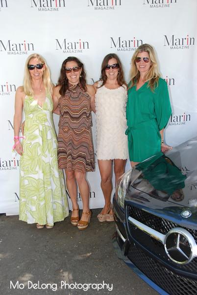 Laura Smith Blair, Kathleen Brady, Sarah Stuckey Coats and Melissa Pulling