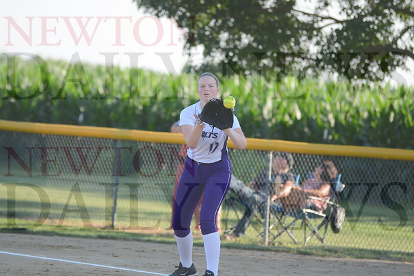 Baxter Softball vs. Lamoni 7-8-19