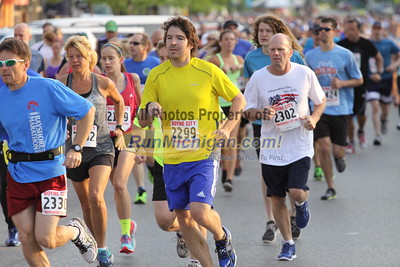 2015 Boyne City Independence Day Run - July 4, 2015