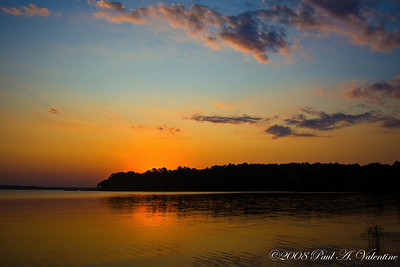 Lake 'O' The Pines Scenes 10-04-08
