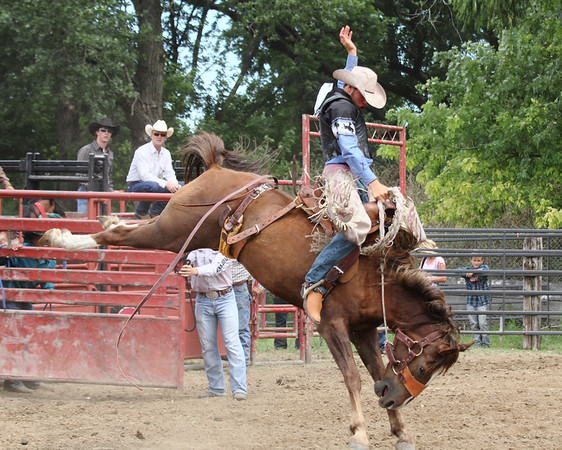 2015 Sioux Empire 4-H Rodeo - Sat Roping, Wrestling, & Riding
