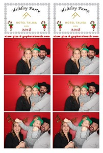 Hotel Talisa Vail Holiday Party 12/16/18