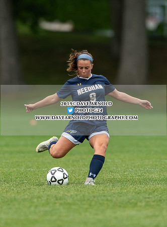 9/12/2019 - Girls Varsity Soccer - Milton vs Needham
