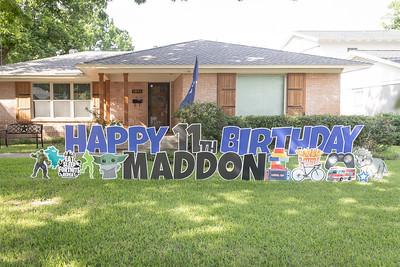 Madden 11th Birthday Party