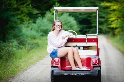 Senior Portraits: Hannah Rousseau
