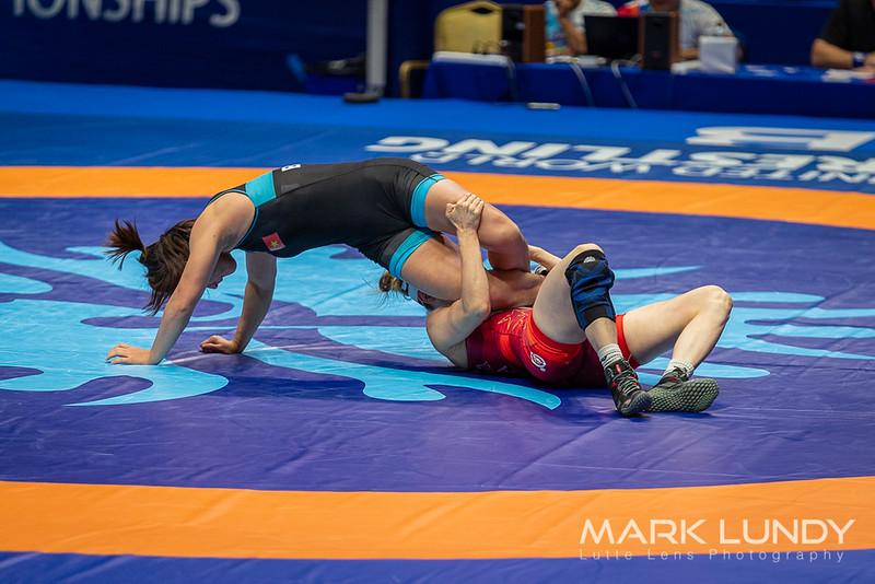 Champ. Round 2: Sarah Ann Hildebrandt (United States) over Thi Dao Bui (Vietnam)  •  TF 10-0 - 2019 World Championships