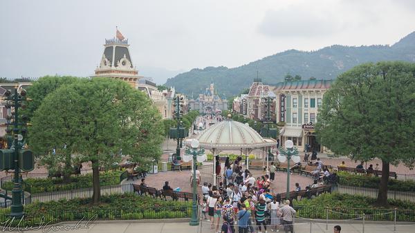 Disneyland Resort, Hong Kong Disneyland, Main Street USA, Train, Depot, Station, Railroad