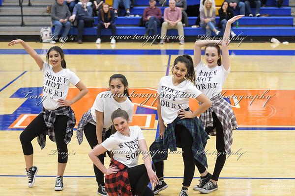 Dance Team @ Heritage  Game 26 Jan 2018