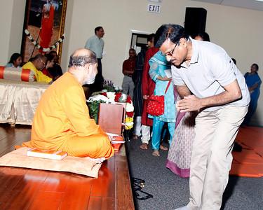 Pujya Guruji's Visit @ Chitrakoot - 2012